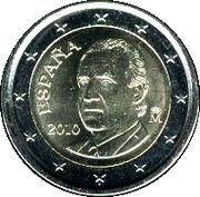 2 euros Juan Carlos I (2e carte, 2e type) -  avers