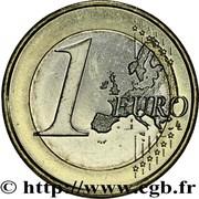 1 euro Juan Carlos I (2e carte, 2e type) -  revers