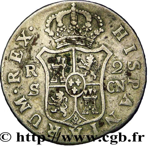 foto de 2 reales Charles IV Espagne Numista
