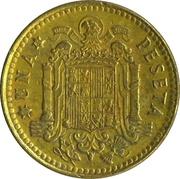 1 peseta Juan Carlos I -  revers