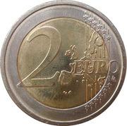 2 euros Don Quichotte -  revers