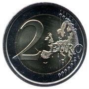 2 euros Escurial -  revers