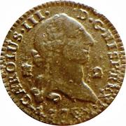 2 maravedis Charles III – avers