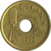 25 pesetas Ceuta -  avers