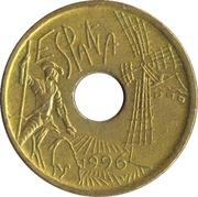 25 pesetas Castille-La Manche -  avers
