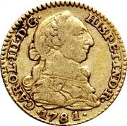1 escudo Charles III -  avers