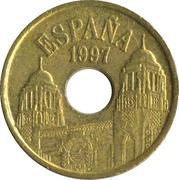 25 pesetas Melilla -  avers
