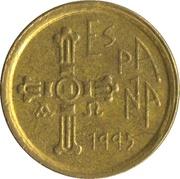 5 pesetas Asturias -  avers
