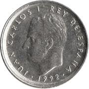 10 pesetas modèle 10 -  avers