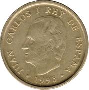 100 pesetas Bibliothèque nationale -  avers