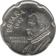 50 pesetas Juan de Herrera -  avers