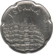50 pesetas Casa Milà -  avers