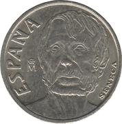 10 pesetas Seneca -  avers