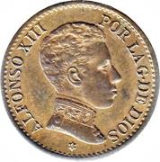 1 centimo Alphonse XIII cadet -  avers