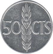 50 centimos Franco -  revers