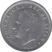50 pesetas España 82 -  avers