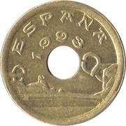 25 pesetas Pays basque -  avers
