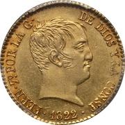 80 reales Ferdinand VII -  avers