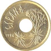 25 pesetas Canaries -  avers