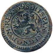 2 maravedis Philippe II frappe au balancier – revers