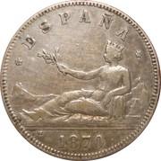2 pesetas Gouvernement provisoire -  avers