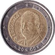 2 euros Juan Carlos I (1ère carte) -  avers