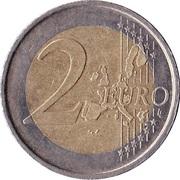 2 euros Juan Carlos I (1ère carte) -  revers