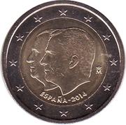 2 euros Accession de Philippe VI -  avers