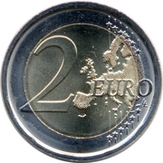 2 euros Accession de Philippe VI -  revers