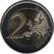 2 euros Aqueduc de Ségovie -  revers