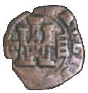 4 maravedis Philippe III martelé – avers