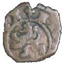 4 maravedis Philippe III martelé – revers