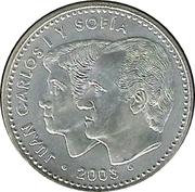 12 euros Constitution espagnole -  avers