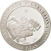 2000 pesetas Sprint -  avers