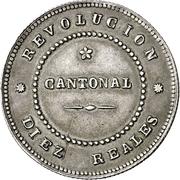 2 ½ pesetas Révolution cantonale -  avers