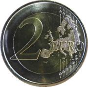 2 euros Églises du Royaume des Asturies -  revers