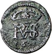 ½ maravedi Philippe IV (Basso) – avers