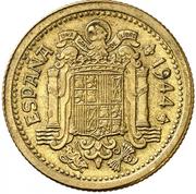 2½ pesetas (Essai) -  avers