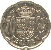 50 pesetas Philippe V -  revers