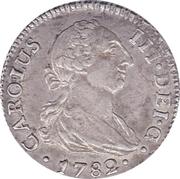 2 reales Charles III 2ème modèle -  avers