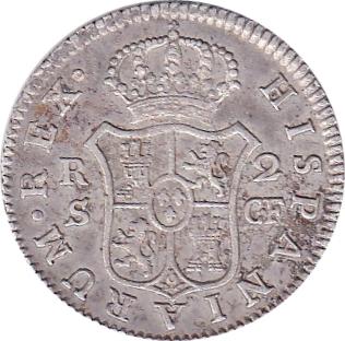 foto de 2 reales Charles III 2ème modèle Espagne Numista