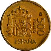 500 pesetas Juan Carlos I -  revers