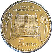 5 euros Melilla -  avers