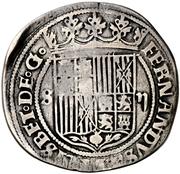 2 reales Ferdinand et Isabelle Séville – avers