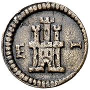1 maravedi Philippe III – revers