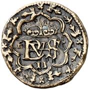 2 maravedis Philippe IV Ségovie (Essai) – avers