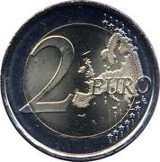 2 euros Anniversaire de Felipe VI -  revers