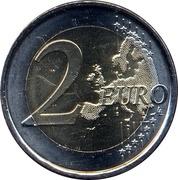 2 euros Saint-Jacques-de-Compostelle -  revers