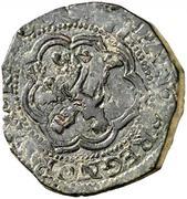 4 Marevedis Philippe III Cuenca calice -  revers