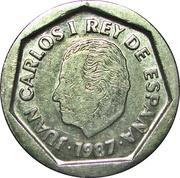 200 pesetas Juan Carlos I -  avers